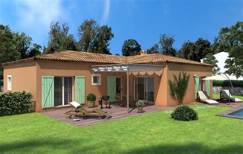 Formidable Photo Maison Avec Terrasse Couverte #1: maison_plainpied_daphnee.jpg
