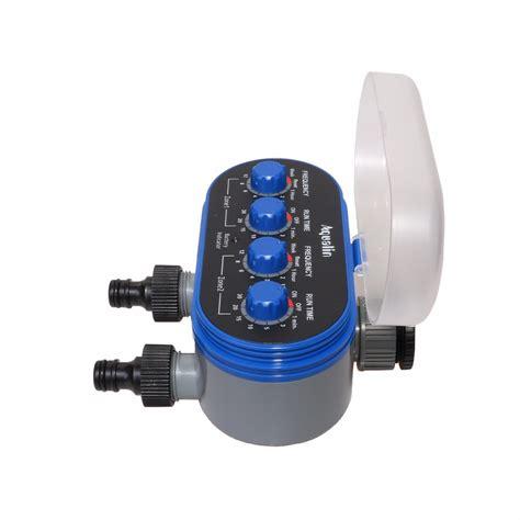 Timer Lcd Irigasi Air Taman Otomatis timer irigasi air taman otomatis 2 outlet blue jakartanotebook