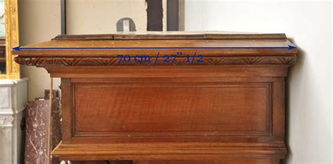 antique walnut fireplace with grotesques antique walnut fireplace with grotesques and lions heads