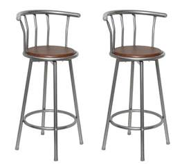 Breakfast Bar Stools New Set 2 Bar Stools Breakfast Kitchen Bar Stool