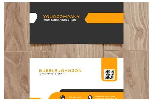 visiting card design eps format free download