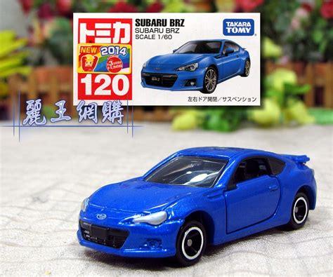 Tomica Reg 120 Subaru Brz 1 tomica subaru brz tomica小汽車系列商品