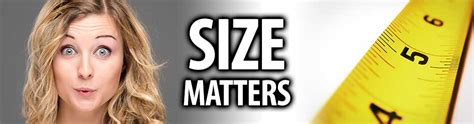 does size matter in bed for print media size does matter