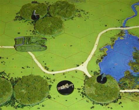 how to make 3d hexagon maps for axis allies miniatures red golem blog 187 forest 3d hexes for axis allies