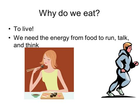 how we eat with our and think with our stomachs the influences that shape your habits books learning targets i can ppt