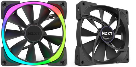 nzxt aer rgb fans nzxt aer rgb review these case fans are pretty clever