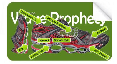 Prophecy The Elements Of Series swift2feet mizuno wave prophecy