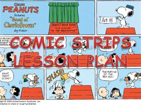 Lauren Nelson by Comic Strip Lesson Plan
