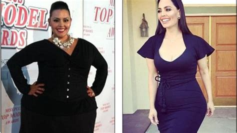 rosie mercado weight loss  size model sheds kg