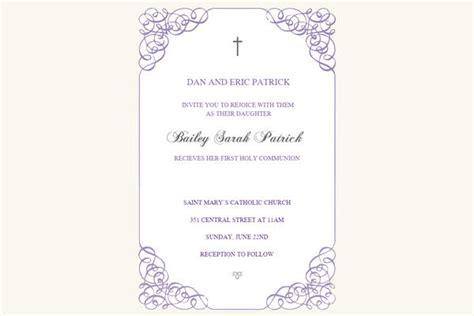 11 first communion invitations psd ai illustrator download