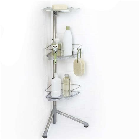 bed bath beyond shower caddy wall mounted shelves bed bath and beyond home decor over