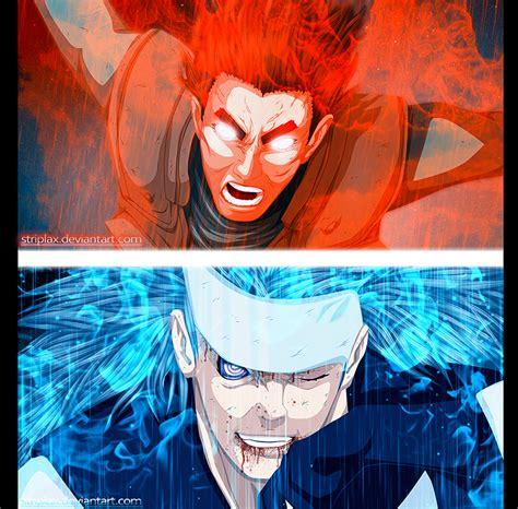 film naruto gai vs madara naruto 669 gai vs madara by striplax daily anime art