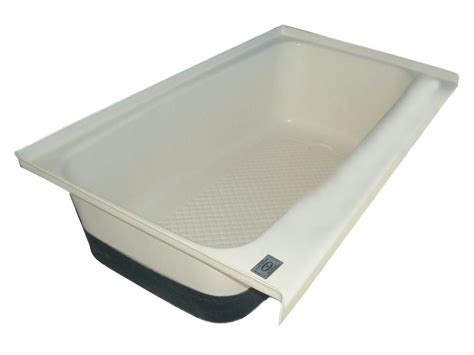 bathtub for rv rv bath tub right hand drain tu700rh polar white icon