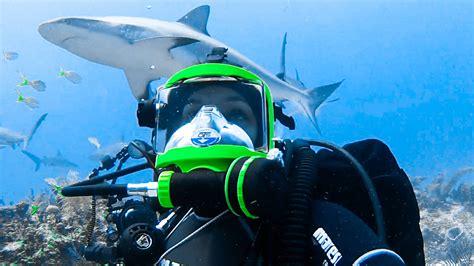 Mask Snorkel Merk Shark guardian masks make shark diving scuba