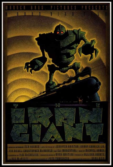 The Iron Giant by The Iron Giant Animated Cartoon Fantasy Alien Robot Sci Fi
