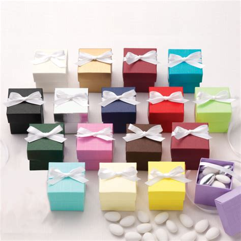 Wedding Favors Boxes by Colorful Two Wedding Favor Box 2 Wedding