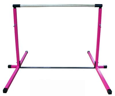 high quality pink 3 5 adjustable gymnastics bar