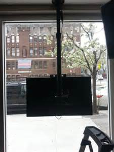 tv mount for window window display tv mount yelp