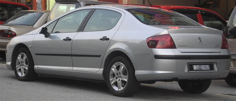 first peugeot file peugeot 407 first generation rear serdang jpg
