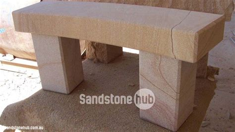 sandstone bench sandstone seating bench free quote sandstonehub au