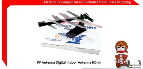 Antenna Indoor Pf Digital Hd 14 jual pf antenna digital indoor antenna hd14