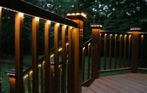 Solar Lights For Deck Railings Colors Decoration