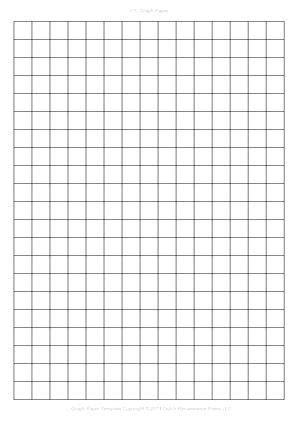 one inch graph paper template one inch graph paper free graph paper half inch printable
