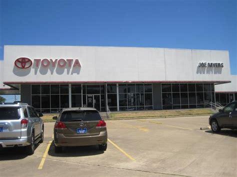 Joe Meyer Toyota Joe Myers Toyota Houston Tx 77065 Car Dealership And