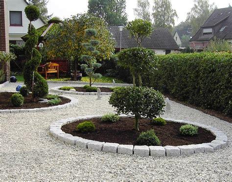 Gartenbeet Modern by Gartengestaltung Mit Steinen Und Gr 228 Sern
