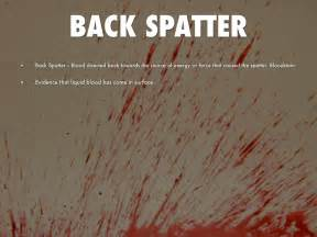 definition of pattern evidence blood spatter definitions and pictures by aida akopyan