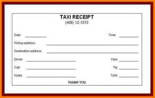 blank taxi receipt template 7 blank taxi receipts inventory count sheet