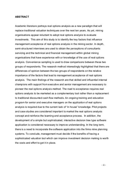 Introduction Letter Replacement Research Report Hudson Real Options Final