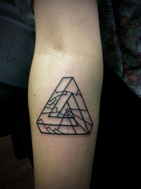 triangle tattoos designs 17 best ideas about geometric triangle on