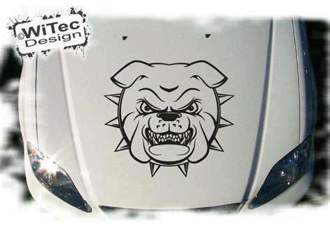 Motorhauben Aufkleber Aufkleber by Autoaufkleber Bulldogge Auto Aufkleber Motorhaube