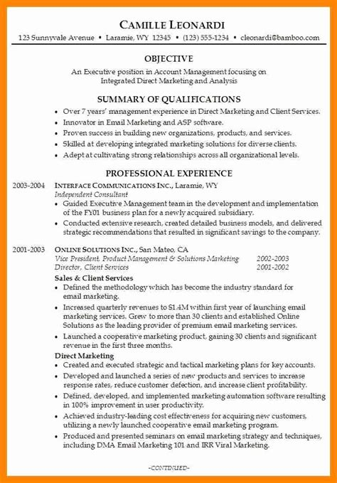 Resume Summary Exles Entry Level Marketing resume summary exles entry level 100 best resume summary statement exles resume