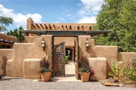 adobe style houses adobe style home santa fe new mexico homes spanish