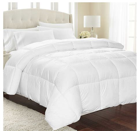 comforter only white alternative goose down comforter only 21 88 was 59