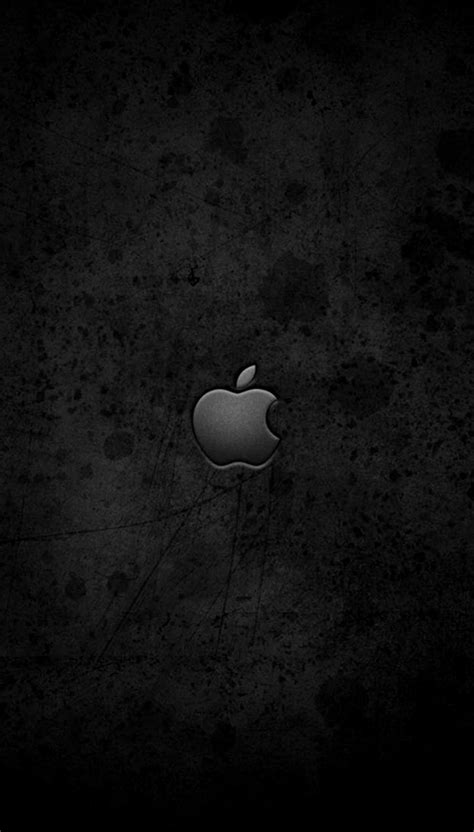 black apple logo wallpaper  iphone    iphone