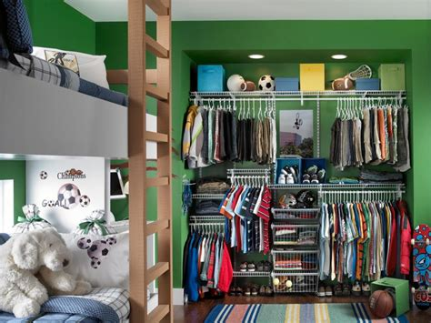 a boy s closet for every age hgtv