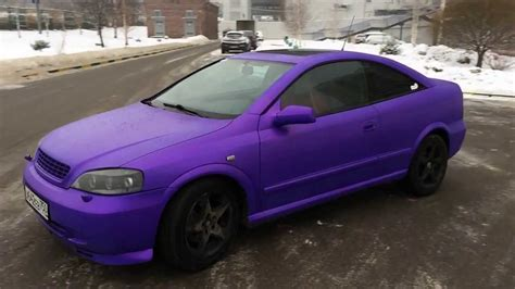 opel purple opel astra bertone plasti dip purple pearl youtube