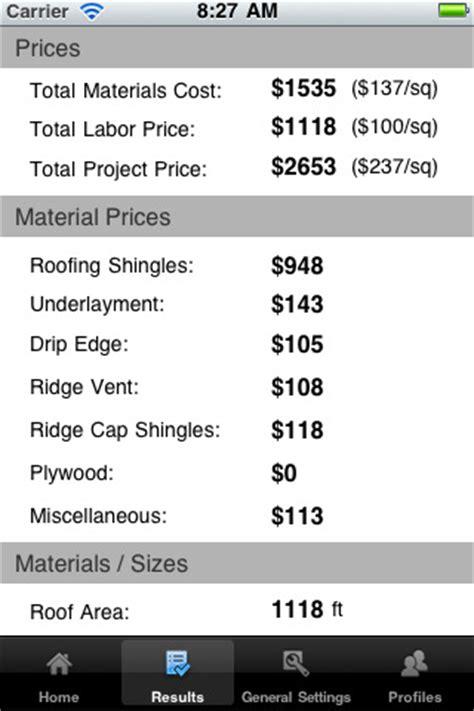 Roof Replacement Calculator Roof Repair Roof Repair Estimates Calculator