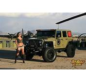 Custom Girl Jeep Picture