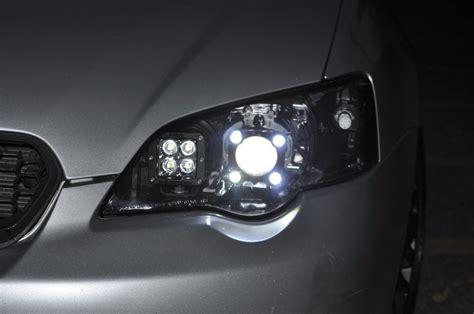 Drl Subaru Legacy Gt Diy Led Headlights V80 8193688061 L Make Led Light Bar