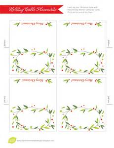 free placecard template place card templates free