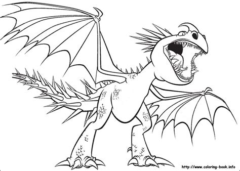 deadly nadder dragon coloring pages coloring pages