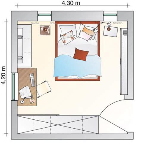 schlafzimmer quadratisch beengtes schlafzimmer bekommt neuen freiraum sch 214 ner