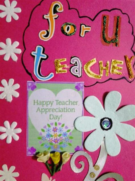 Handmade Card Designs For Teachers Day - top 5 gifts on s day wiki how