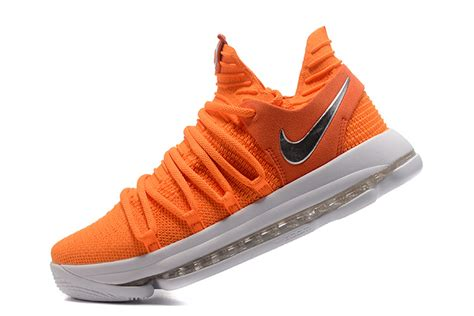 Nike Zoom 1 Orange nike zoom kd10 ep high top s basketball shoes orange white worshipsport