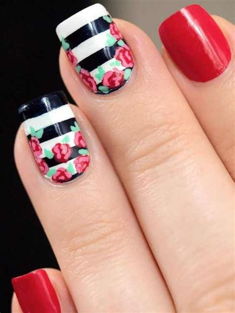imagenes de uñas decoradas con zapatillas 53 fotos de u 237 177 as decoradas 2017 sencillas faciles y
