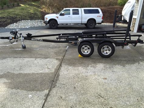 mastercraft boat trailer axles 2010 mastercraft double axle trailer for sale teamtalk